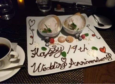 4年に渡る夫の不倫から、結婚19回目の結婚記念日♡